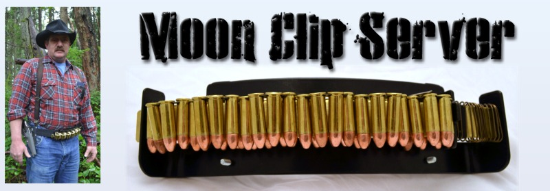 Moon Clip Server - Fast Reloading Revolver Accessory